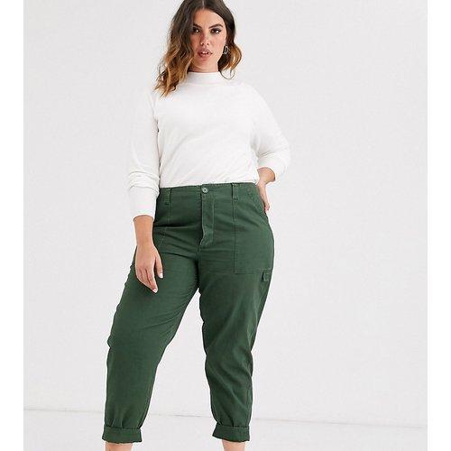 ASOS DESIGN Curve - Pantalon slim - Kaki - ASOS Curve - Modalova