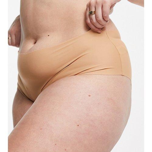 ASOS DESIGN Curve - Tiggy - Culotte taille haute lissante sans coutures en microfibre - ASOS Curve - Modalova