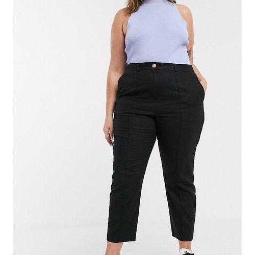 ASOS DESIGN Curve - Ultimate - Pantalon cigarette en lin - ASOS Curve - Modalova