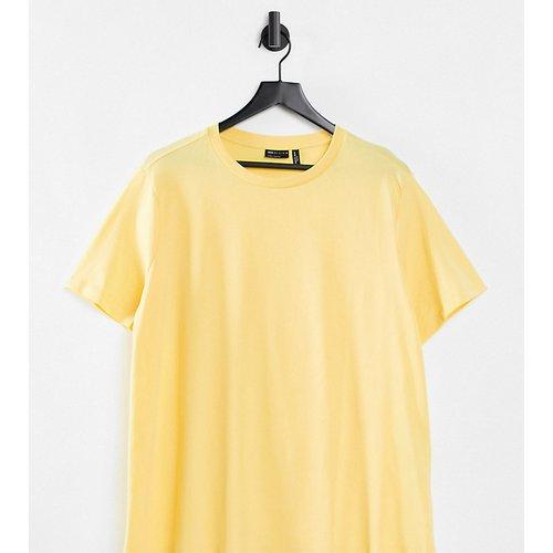 ASOS DESIGN Curve - Ultimate - T-shirt ras de cou en coton biologique - ensoleillé - ASOS Curve - Modalova