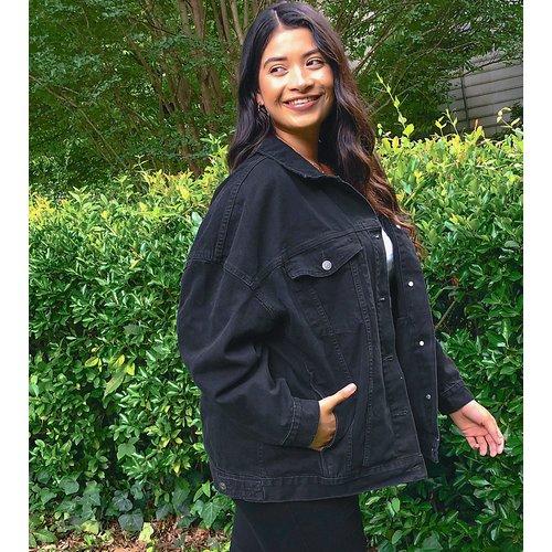 ASOS DESIGN Curve - Veste en jean oversize - ASOS Curve - Modalova