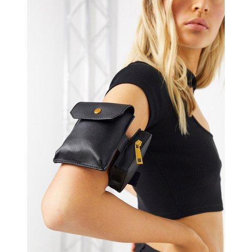 Double pochette pour le bras avec bride ajustable - ASOS DESIGN - Modalova