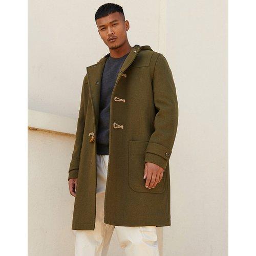 Duffle-coat - Kaki - ASOS DESIGN - Modalova