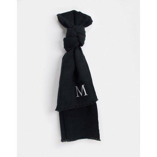 Écharpe personnalisée avec initiale M - ASOS DESIGN - Modalova