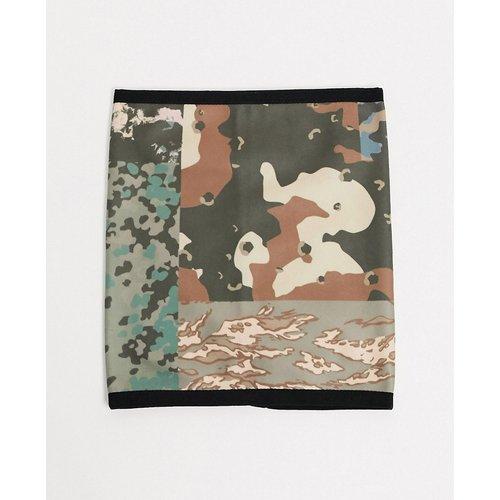 Écharpe tube en polaire à imprimé camouflage - ASOS DESIGN - Modalova