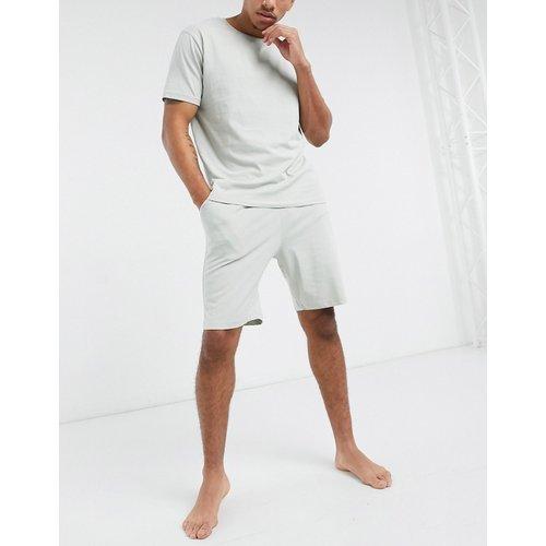 Ensemble pyjama confort avec t-shirt et short - clair - ASOS DESIGN - Modalova