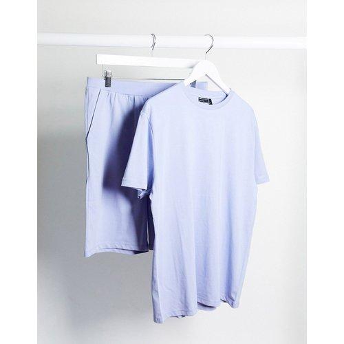 Ensemble pyjama confort avec t-shirt et short - Lilas - ASOS DESIGN - Modalova