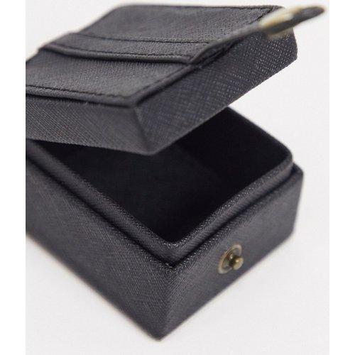 Étui pour écouteurs avec porte-clé en imitation cuir - ASOS DESIGN - Modalova