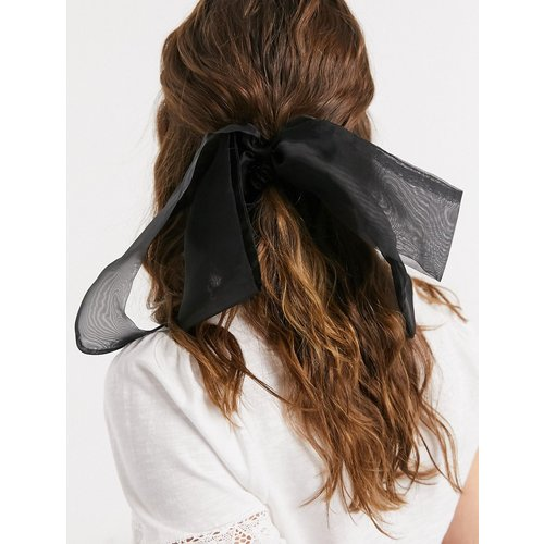 Foulard à cheveux avec nœud en organza - ASOS DESIGN - Modalova