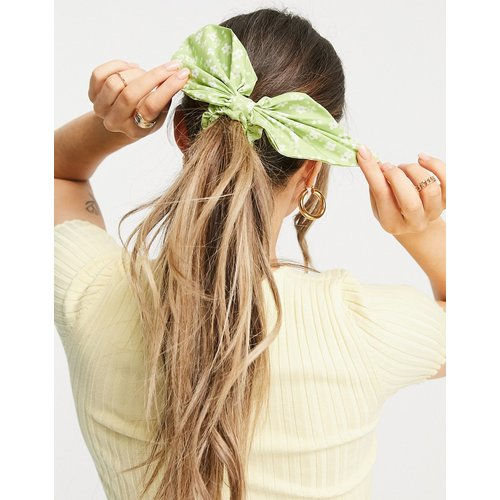 Foulard à cheveux imprimé floral - Vert - ASOS DESIGN - Modalova