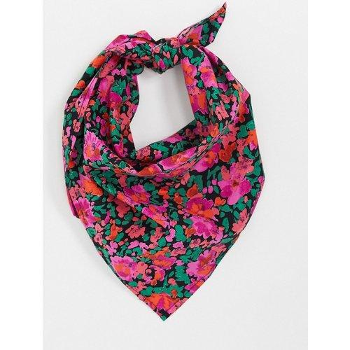 Foulard bandana carré à fleurs - ASOS DESIGN - Modalova