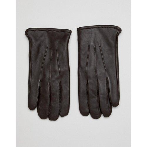 Gants en cuir pour écran tactile - ASOS DESIGN - Modalova