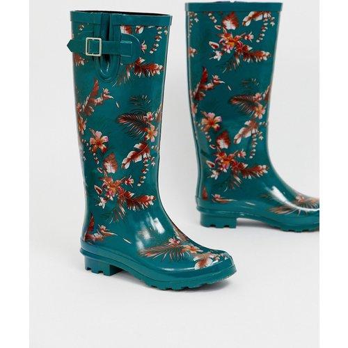 Grace - Bottes de pluie à fleurs - ASOS DESIGN - Modalova