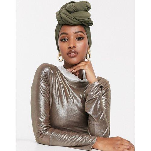 Grand foulard uni - Kaki - ASOS DESIGN - Modalova