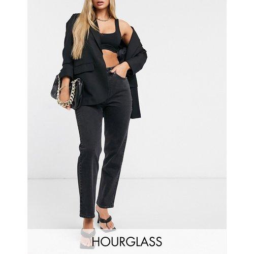 Hourglass - Jean slim droit stretch taille haute - délavé - ASOS DESIGN - Modalova