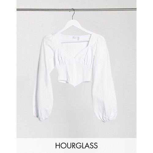 Hourglass - Top style corset à manches longues - ASOS DESIGN - Modalova