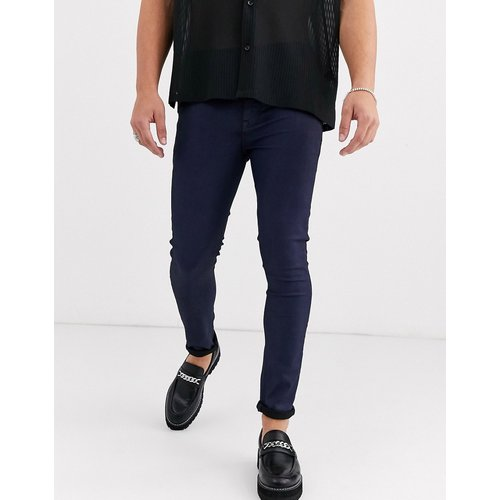 Jean habillé enduit super skinny - ASOS DESIGN - Modalova