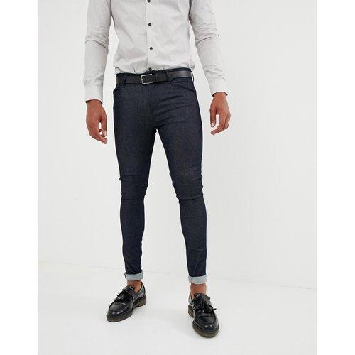 Jean super skinny habillé - Indigo brut - ASOS DESIGN - Modalova