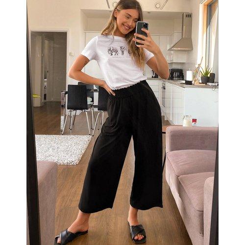 Jupe-culotte à taille froncée - ASOS DESIGN - Modalova