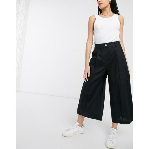 Jupe-culotte en lin épuré - ASOS DESIGN - Modalova