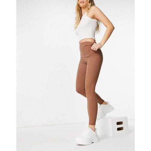 Legging côtelé - ASOS DESIGN - Modalova