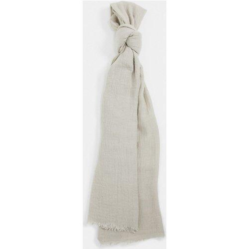 Longue écharpe légère en mélange de laine - chiné - ASOS DESIGN - Modalova
