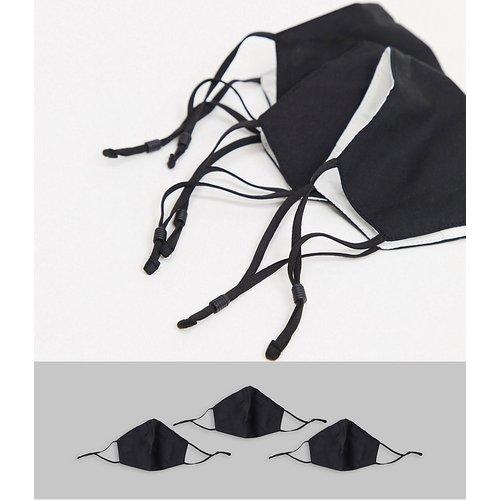 Lot de 3 masques à 3 épaisseurs avec pochette - ASOS DESIGN - Modalova