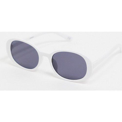 Lunettes de soleil oversize ovales recyclées - ASOS DESIGN - Modalova