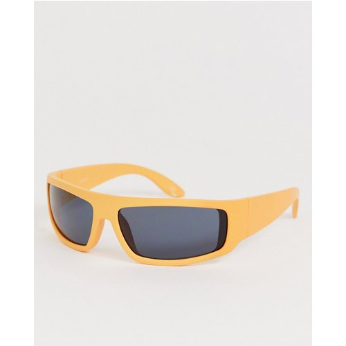 Lunettes de soleil style masque - ASOS DESIGN - Modalova