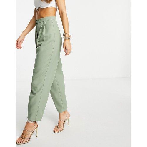 Mansy - Pantalon de costume fuselé - Sauge - ASOS DESIGN - Modalova
