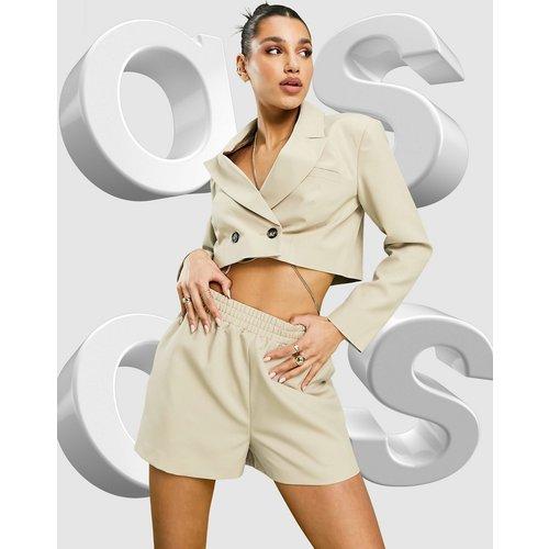 Mansy - Short de tailleur style caleçon - Camel - ASOS DESIGN - Modalova