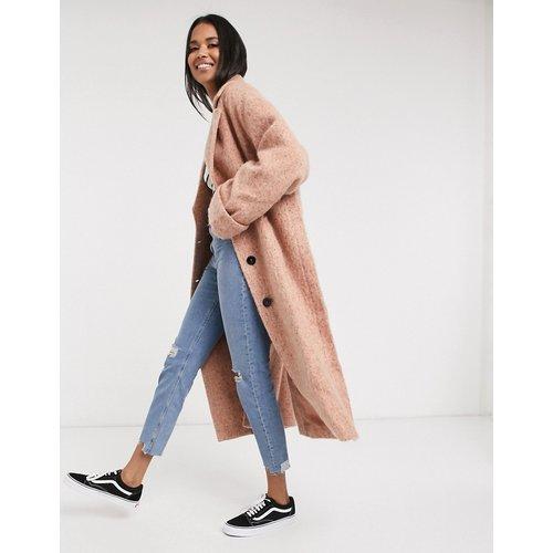 Manteau ample texturé coupe oversizeavec manches chauve-souris - ASOS DESIGN - Modalova