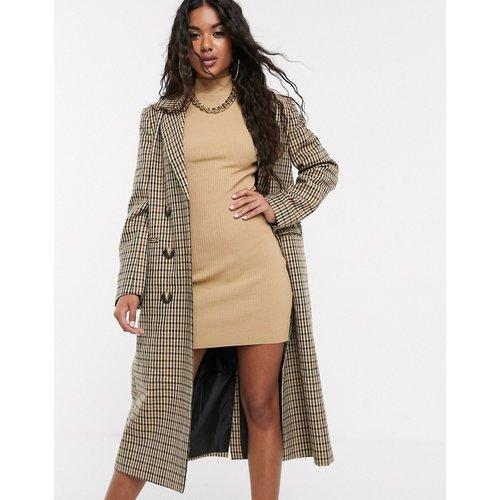 Manteau long et léger à carreaux - ASOS DESIGN - Modalova