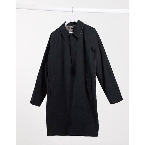Manteau long réversible à carreaux - et gris - ASOS DESIGN - Modalova