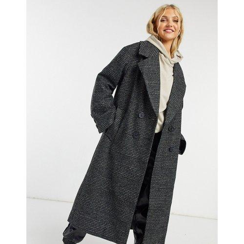 Manteau oversize à carreaux Prince de Galles - ASOS DESIGN - Modalova