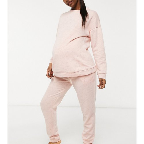 ASOS DESIGN Maternity - Ensemble basique sweat-shirt et jogger - ASOS Maternity - Modalova