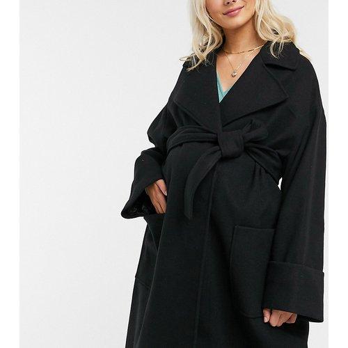 ASOS DESIGN Maternity - Manteau ample à ceinture - ASOS Maternity - Modalova