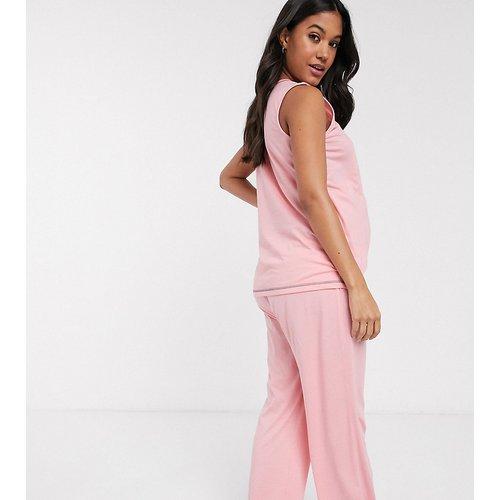 ASOS DESIGN Maternity - Mix & match - Pantalon de pyjama en jersey à coutures surjetées - ASOS Maternity - Modalova