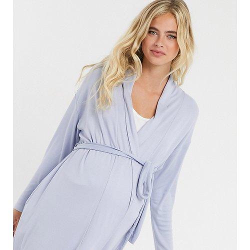 ASOS DESIGN Maternity - Mix & Match - Robe de chambre mi-longue douceet côtelée - ASOS Maternity - Modalova