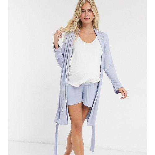 ASOS DESIGN Maternity - Mix & Match - Short de pyjama doux côtelé avec taille élastique - ASOS Maternity - Modalova