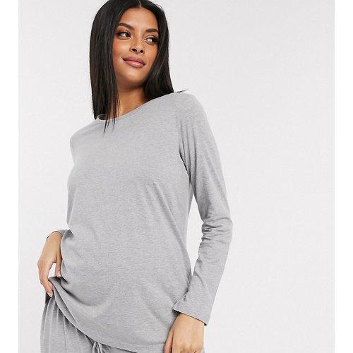 ASOS DESIGN Maternity - Mix & Match - T-shirt de pyjama en jersey à manches longues - ASOS Maternity - Modalova