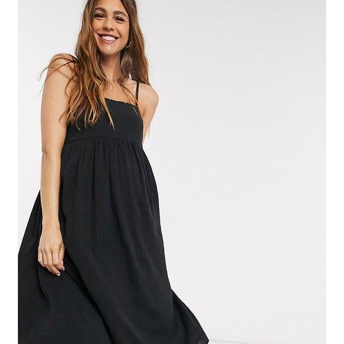 ASOS DESIGN Maternity - Robe d'été mi-longue caraco à volants froncés - ASOS Maternity - Modalova