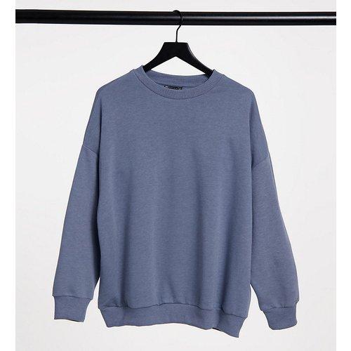 ASOS DESIGN Maternity - Sweat-shirt douillet coupe oversize - Gris dauphin - ASOS Maternity - Modalova