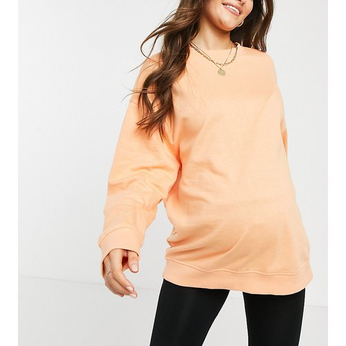 ASOS DESIGN Maternity - Sweat-shirt oversize en coton biologique - ASOS Maternity - Modalova