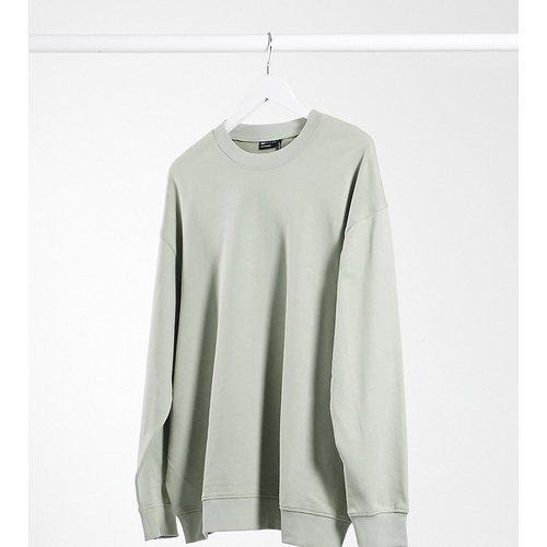 ASOS DESIGN Maternity - Sweat-shirt oversize en coton biologique - Sauge - ASOS Maternity - Modalova
