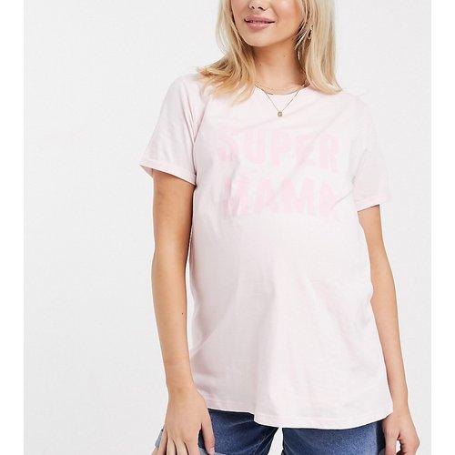 ASOS DESIGN Maternity - T-shirt d'allaitement à inscription Mama - ASOS Maternity - Nursing - Modalova