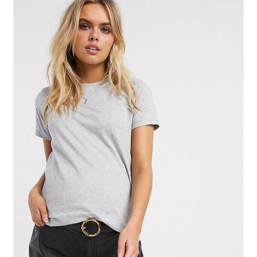 ASOS DESIGN Maternity - Ultimate - T-shirt ras de cou en coton biologique - chiné - ASOS Maternity - Modalova