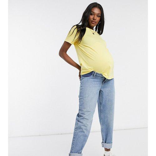 ASOS DESIGN Maternity - Ultimate - T-shirt ras de cou en coton biologique - Soleil - ASOS Maternity - Modalova