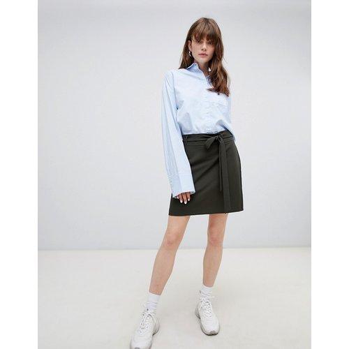 Mini-jupe ajustée avec ceinture obi - ASOS DESIGN - Modalova