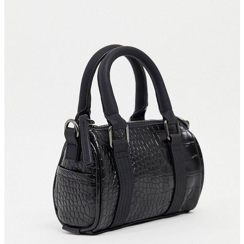 Mini sac de sport à bandoulière en imitation cuir - ASOS DESIGN - Modalova